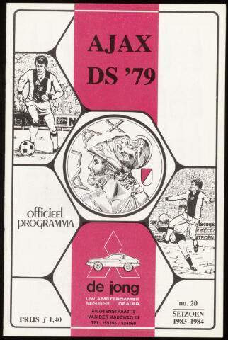 Programmaboekjes (vanaf 1934) 1984-05-13