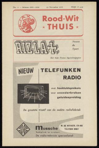 Programmaboekjes (vanaf 1934) 1955-11-13