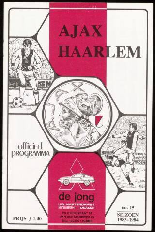 Programmaboekjes (vanaf 1934) 1984-03-18