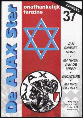 Fanzine De Ajax Ster (1996-2001) 2001-09-16
