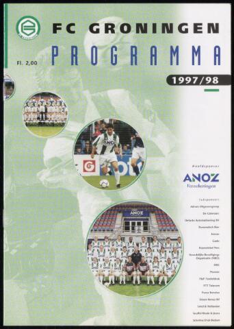 Programmaboekjes (vanaf 1934) 1998-04-19