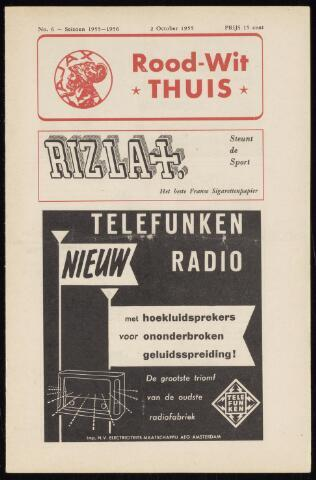 Programmaboekjes (vanaf 1934) 1955-10-02