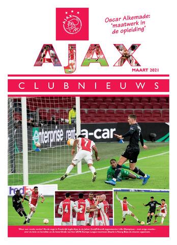 Clubnieuws Ajax (vanaf 1916) 2021-03-01