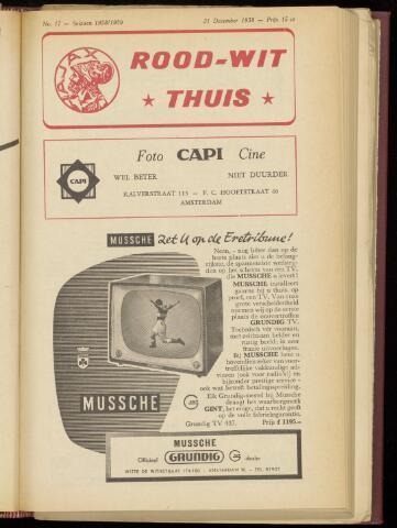 Programmaboekjes (vanaf 1934) 1958-12-21