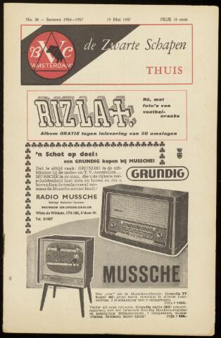 Programmaboekjes (vanaf 1934) 1957-05-19