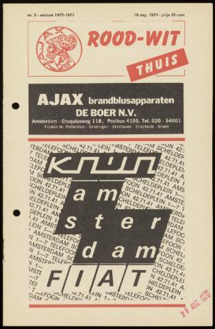 Programmaboekjes (vanaf 1934) 1970-08-19