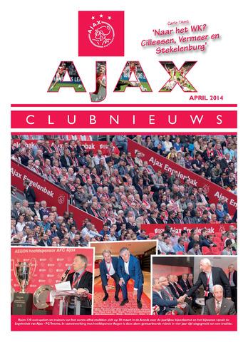 Clubnieuws Ajax (vanaf 1916) 2014-04-01