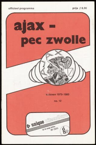 Programmaboekjes (vanaf 1934) 1979-10-28