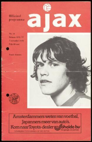 Programmaboekjes (vanaf 1934) 1976-11-07