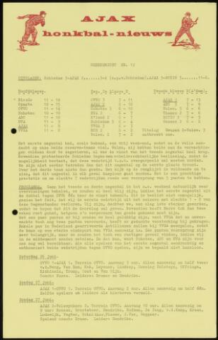 Honkbal nieuws (1963-1972) 1965-06-21