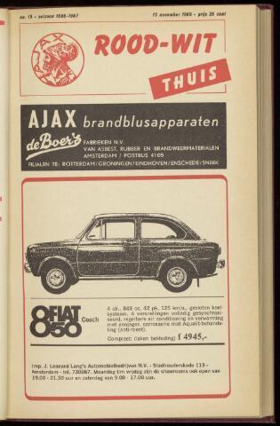Programmaboekjes (vanaf 1934) 1966-11-13