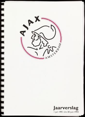 Jaarverslagen Vereniging (vanaf 1964) 1992-06-30