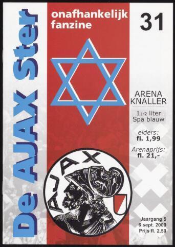 Fanzine De Ajax Ster (1996-2001) 2000-09-06