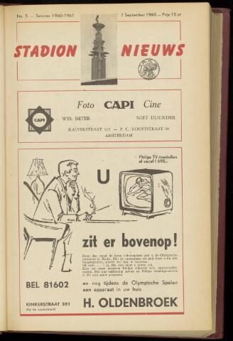 Programmaboekjes (vanaf 1934) 1960-09-07