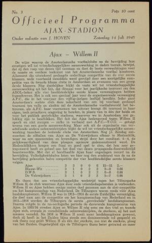 Programmaboekjes (vanaf 1934) 1945-07-14