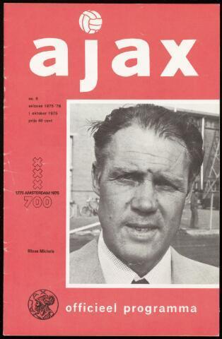 Programmaboekjes (vanaf 1934) 1975-10-01