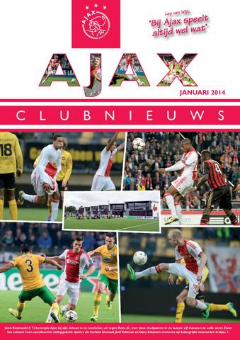 Clubnieuws Ajax (vanaf 1916) 2014-01-01