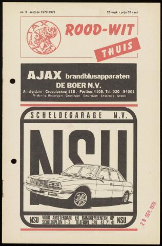 Programmaboekjes (vanaf 1934) 1970-09-26