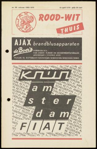 Programmaboekjes (vanaf 1934) 1970-04-15