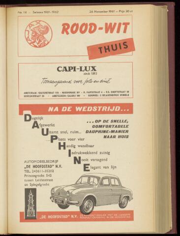 Programmaboekjes (vanaf 1934) 1961-11-26