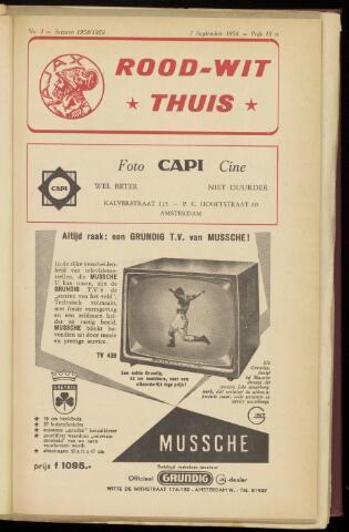 Programmaboekjes (vanaf 1934) 1958-09-07