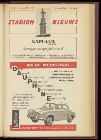 Programmaboekjes (vanaf 1934) 1962-04-26