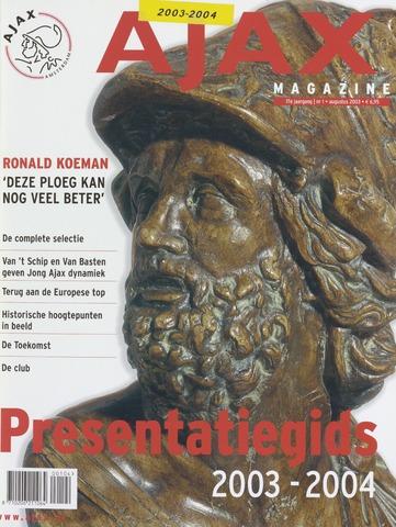 Presentatiegids (1987-2013) 2003-08-01