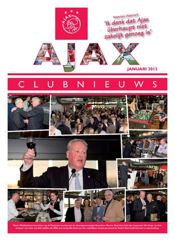 Clubnieuws Ajax (vanaf 1916) 2013-01-01