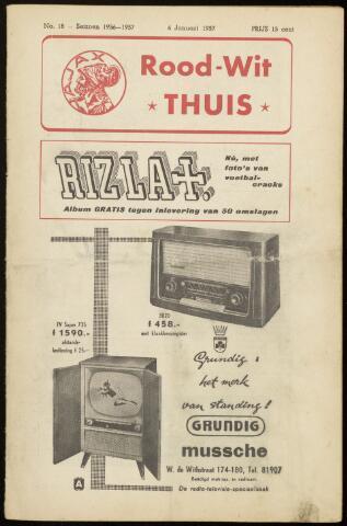 Programmaboekjes (vanaf 1934) 1957-01-06
