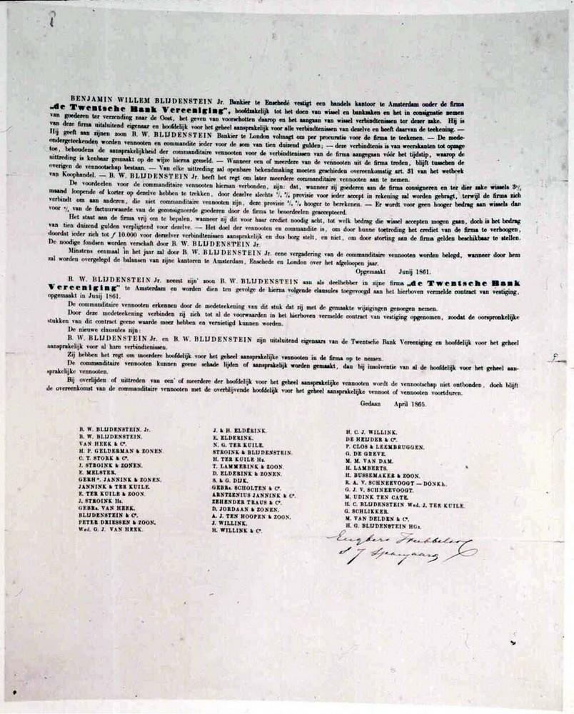 Extract Notulen 5 April 1888