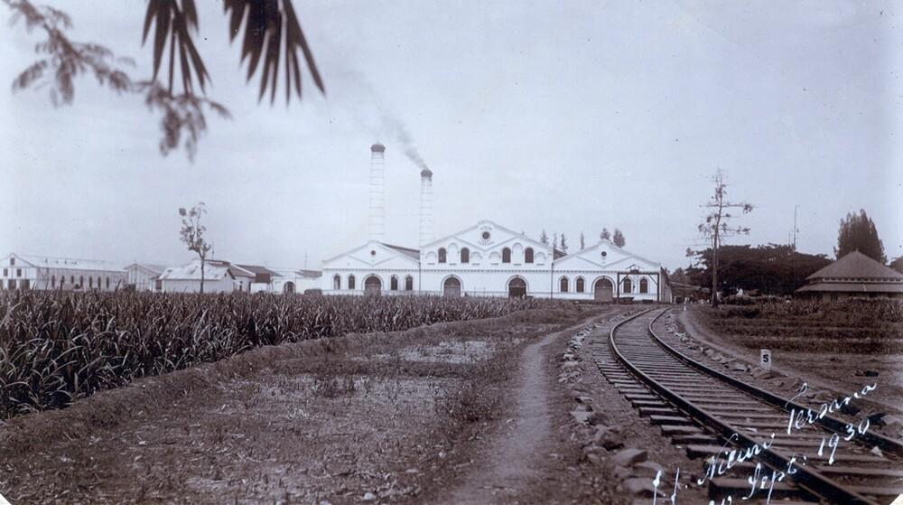 Suikeronderneming Nieuw Tersana (Cheribon), Indonesië
