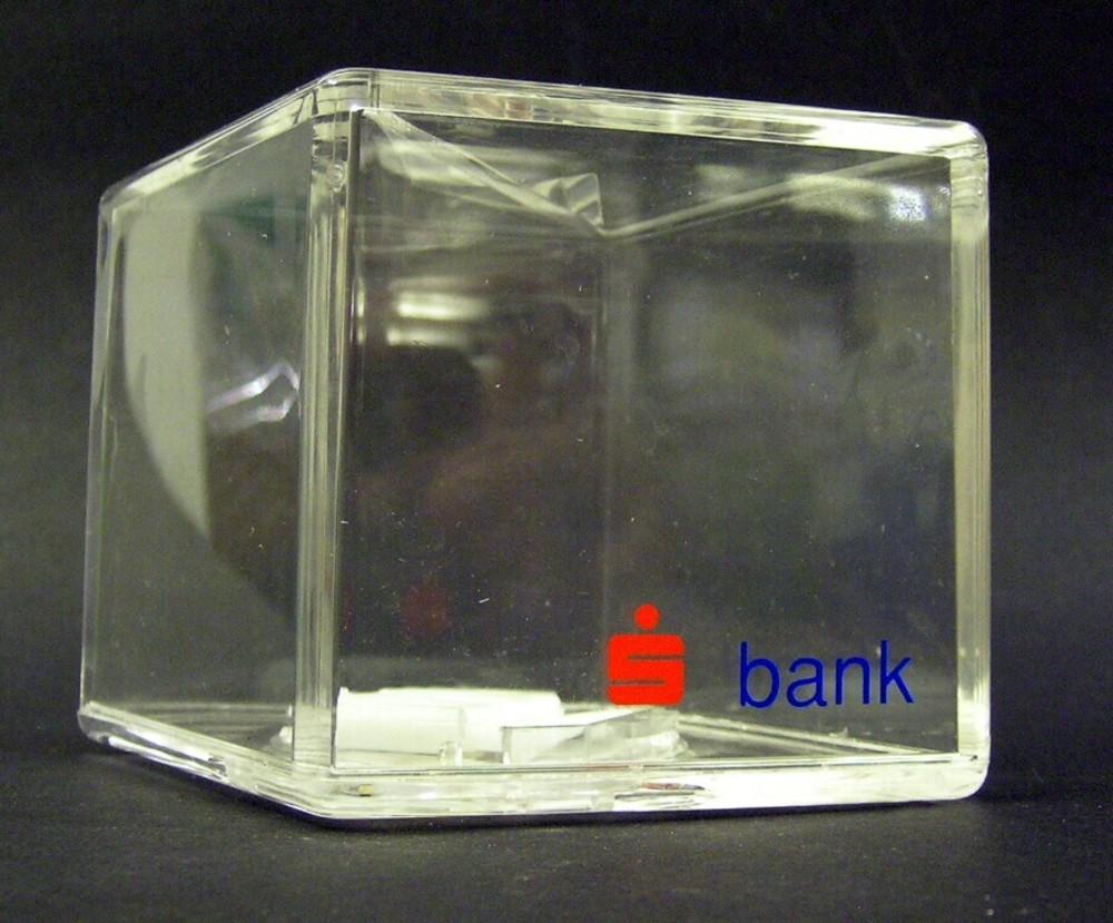Ruitvormige spaarpot van de Bondsspaarbank