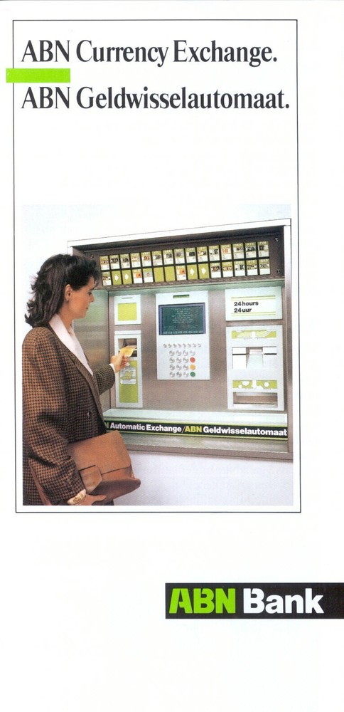 ABN Geldwisselautomaat Schiphol, aankomsthal Noord