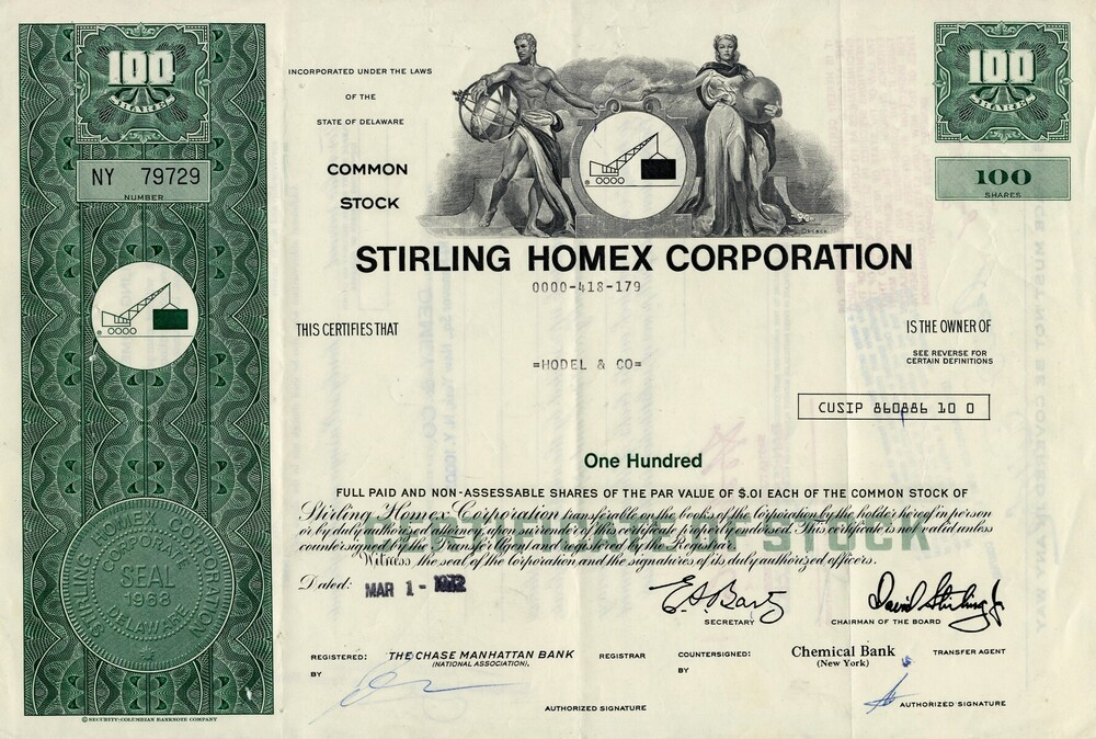 Stirling Homex Corporation