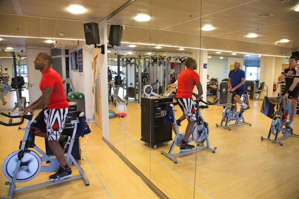 ABN AMRO, Coolsingel 93, Rotterdam, fitness centrum, 8e etage