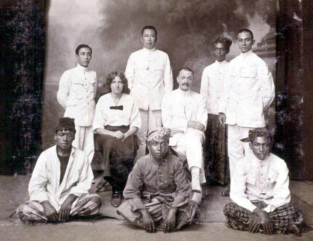 Personeel Nederlandsche Handel-Maatschappij, agentschap Jember, Indonesië