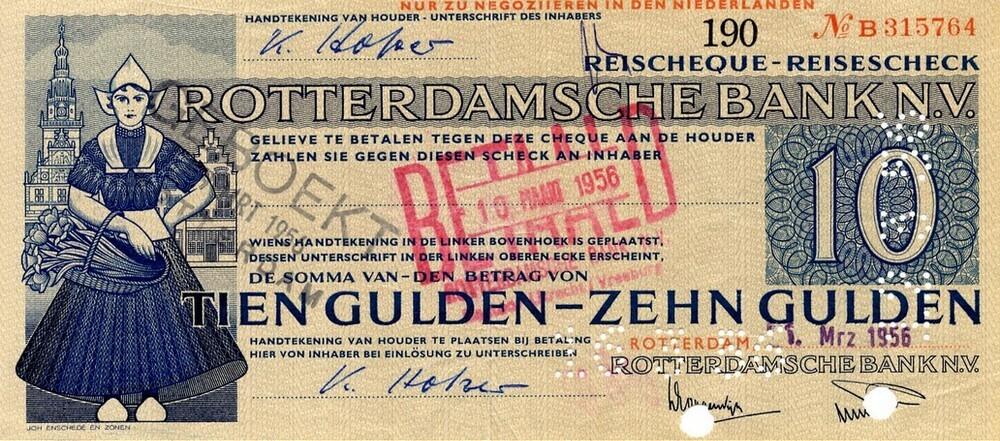 Reischeque Rotterdamsche Bank