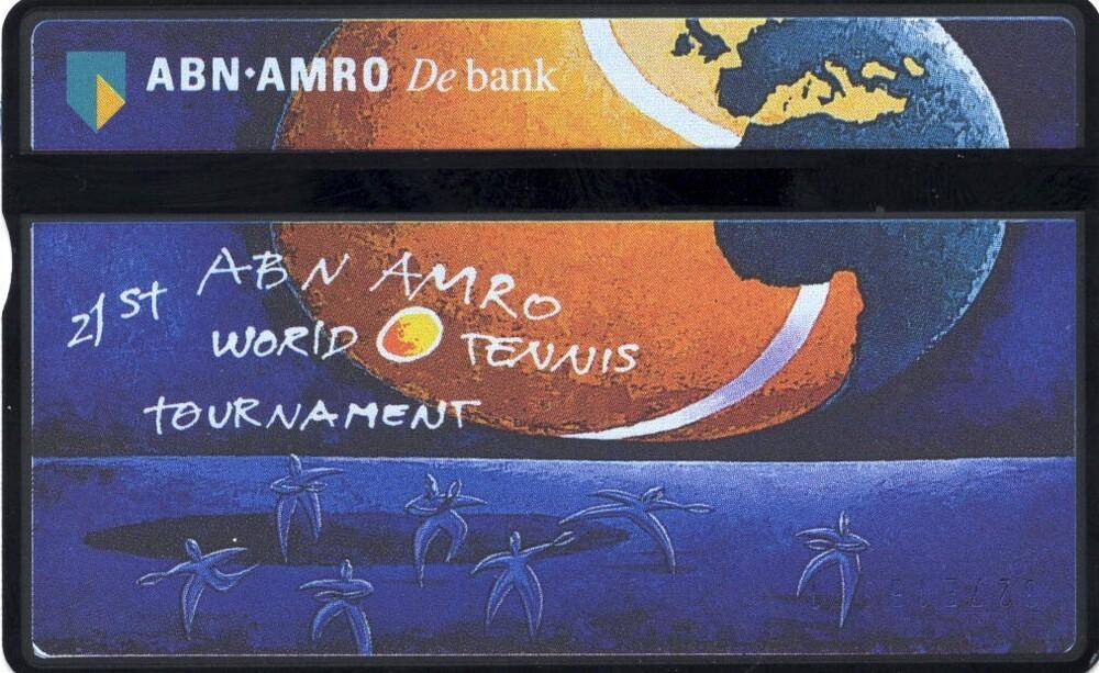 Telefoonkaart 21st ABN AMRO World Tennis Tournament
