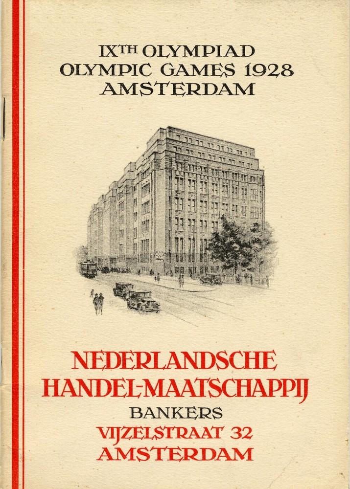 IXth Olympiad, Olympic Games 1928 Amsterdam