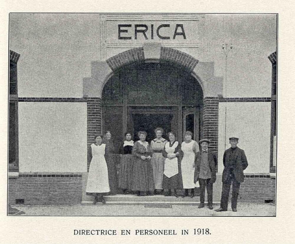 Vakantieoord Erica, Ericaweg, Nunspeet: directrice en personeel