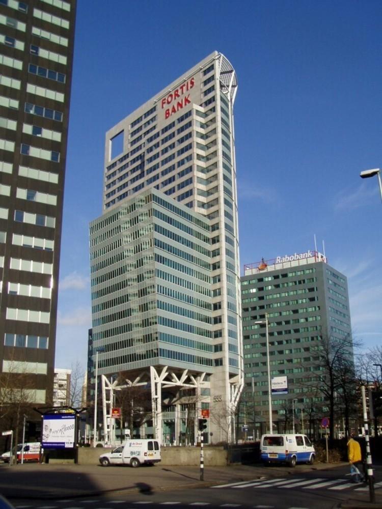 Fortis Bank, Blaak 555, Rotterdam