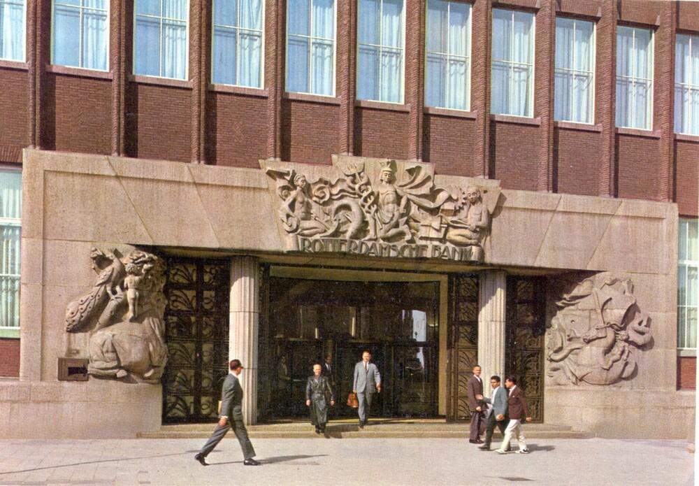 Rotterdam, Coolsingel 119, hoofdingang