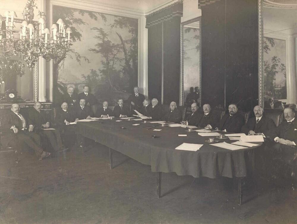 Directie en commissarissen van de Nederlandsche Handel-Maatschappij