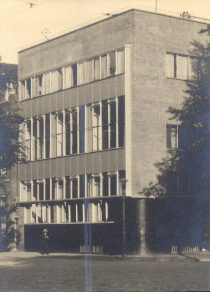 R. Mees & Zoonen, 's-Gravendijkwal 108, hoek Mathenesserlaan, Rotterdam