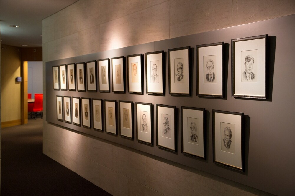 Portrettengalerij ABN AMRO, Gustav Mahlerlaan 10,  Amsterdam