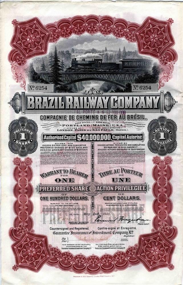 Brazil Railways Company