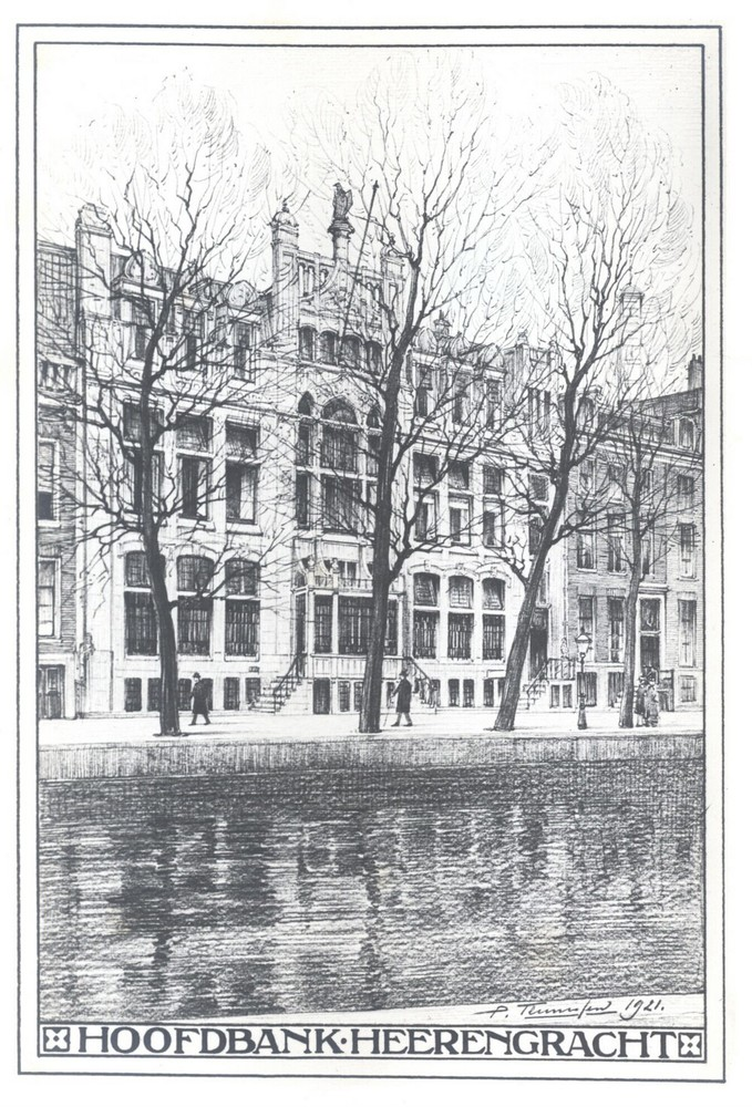 Album Amsterdamsche Bank 1871-1921