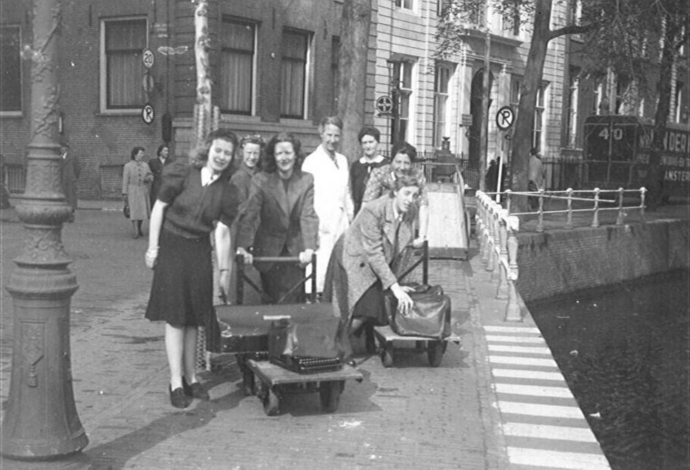 Verhuizing hoofdkantoor vanwege oorlogsomstandigheden mei 1943