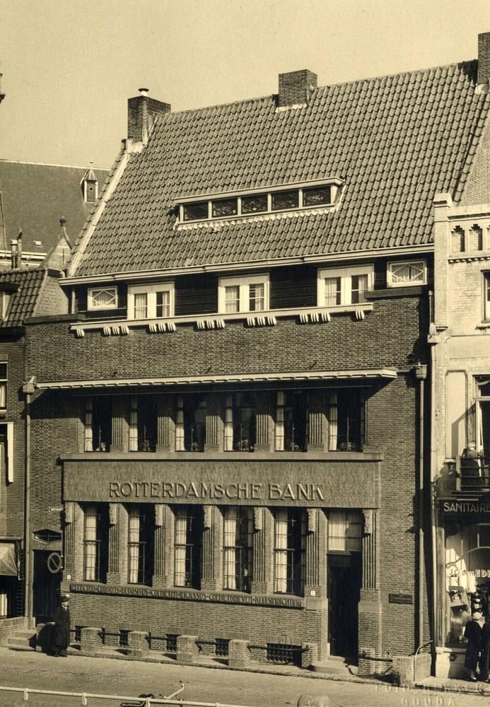 Kantoor Rotterdamsche Bank, Oosthaven 2, Gouda