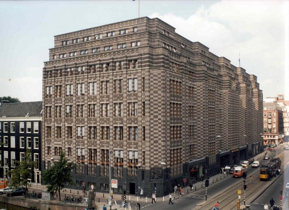 Hoofdkantoor Algemene Bank Nederland, Vijzelstraat 32, Amsterdam